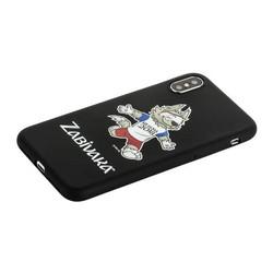 """Чехол-накладка TPU Deppa D-103949 ЧМ по футболу FIFA™ Zabivaka 4 для iPhone XS/ X (5.8"""")"""