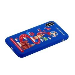 "Чехол-накладка TPU Deppa D-103957 ЧМ по футболу FIFA™ Kaliningrad для iPhone XS/ X (5.8"")"