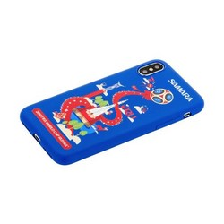 """Чехол-накладка TPU Deppa D-103962 ЧМ по футболу FIFA™ Samara для iPhone XS/ X (5.8"""")"""