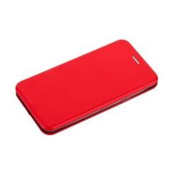 Чехол-книжка кожаный Fashion Case Slim-Fit для Samsung Galaxy S9 Plus Red Красный