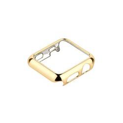 Чехол пластиковый COTEetCI Soft case для Apple Watch Series 3/ 2/ 1 (CS7045-CE) 38мм Золотистый