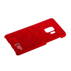 Чехол-накладка PC Deppa D-104726 ЧМ по футболу FIFA™ Official Pattern для Samsung GALAXY S9 SM-G960F Красный