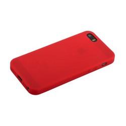 """Чехол-накладка силикон Anycase TPU A-140021 для iPhone SE/ 5S/ 5 (4.0"""") 1.0 мм матовый Бордовый"""