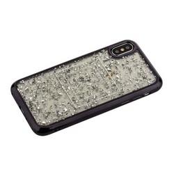 """Накладка пластиковая Santa Barbara Polo&Racquet Clory Series для iPhone XS/ X (5.8"""") силиконовый борт Черная"""