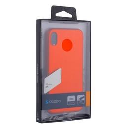 "Чехол-накладка Deppa Case Silk TPU Soft touch D-89045 для iPhone XR (6.1"") 1мм Красный металик"