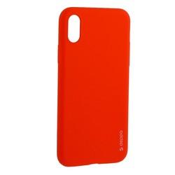 """Чехол-накладка силикон Deppa Gel Color Case TPU D-85361 для iPhone XS/ X (5.8"""") 0.8мм Красный"""