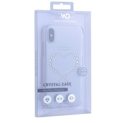 "Чехол-накладка White Diamonds Eternity пластик для iPhone X (5.8"") с кристаллами Swarovski 1360ETY5 Прозрачый"