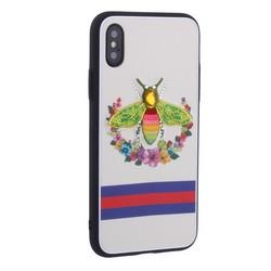 """Накладка силиконовая TOTU Crazy Bee Series -021 для iPhone XS/ X (5.8"""") Пчела Red"""