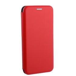 Чехол-книжка кожаный Fashion Case Slim-Fit для Samsung A6 (2018) Red Красный