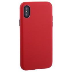 "Чехол-накладка кожаная TOTU Imitation all covered PU Leather Case для iPhone XS/ X (5.8"") AAiX/iXS-016 Красный"