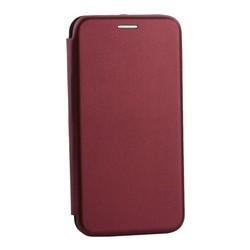 Чехол-книжка кожаный Innovation Case для Samsung Galaxy S10e Бордовый