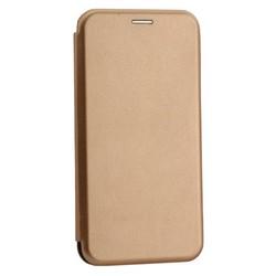 Чехол-книжка кожаный Innovation Case для Samsung Galaxy A20 Розовое золото