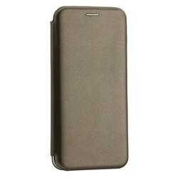 Чехол-книжка кожаный Innovation Case для Samsung Galaxy A20 Графитовый