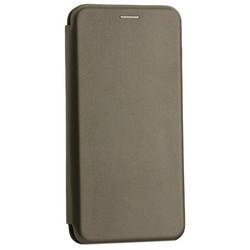 Чехол-книжка кожаный Innovation Case для Samsung Galaxy A70 Графитовый