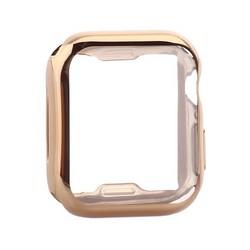 Чехол силиконовый TPU&защита экрана 360° COTEetCI для Apple Watch Series 5/ 4 (CS7059-GD) 40мм Золотистый