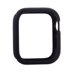 Чехол алюминиевый бампер COTEetCI магнитная рамка для Apple Watch Series 5/ 4 (CS7058-BK) 44мм Черный