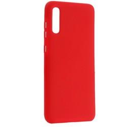 Чехол-накладка силиконовый BoraSCO Hard Case для Samsung Galaxy A70 (A705) красный