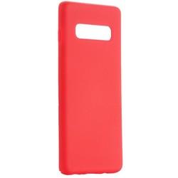 Чехол-накладка силиконовый BoraSCO Hard Case для Samsung Galaxy S10 Plus (G975) красный