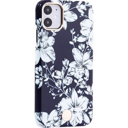 """Чехол-накладка KINGXBAR для iPhone 11 (6.1"""") пластик со стразами Swarovski (Лилия)"""
