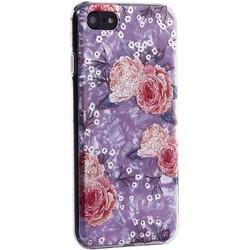 """Чехол-накладка пластиковый Fashion Case для iPhone SE (2020г.)/ 8/ 7 (4.7"""") с силиконовыми бортами Розовый вид №3"""