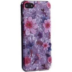 """Чехол-накладка пластиковый Fashion Case для iPhone SE (2020г.)/ 8/ 7 (4.7"""") с силиконовыми бортами Розовый вид №4"""
