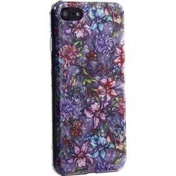 """Чехол-накладка пластиковый Fashion Case для iPhone SE (2020г.)/ 8/ 7 (4.7"""") с силиконовыми бортами Розовый вид №6"""