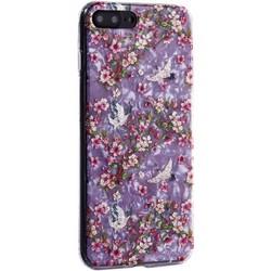 """Чехол-накладка пластиковый MItrifON для iPhone 8 Plus/ 7 Plus (5.5"""") с силиконовыми бортами Розовый вид №1"""