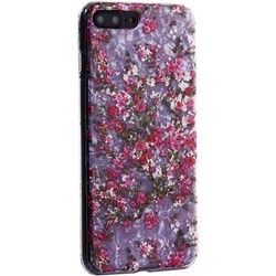 """Чехол-накладка пластиковый Fashion Case для iPhone 8 Plus/ 7 Plus (5.5"""") с силиконовыми бортами Розовый вид №2"""