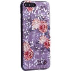 """Чехол-накладка пластиковый Fashion Case для iPhone 8 Plus/ 7 Plus (5.5"""") с силиконовыми бортами Розовый вид №3"""