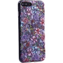 """Чехол-накладка пластиковый Fashion Case для iPhone 8 Plus/ 7 Plus (5.5"""") с силиконовыми бортами Розовый вид №6"""