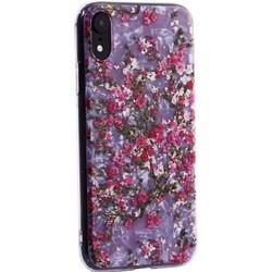 """Чехол-накладка пластиковый Fashion Case для iPhone XR (6.1"""") с силиконовыми бортами Розовый вид №2"""