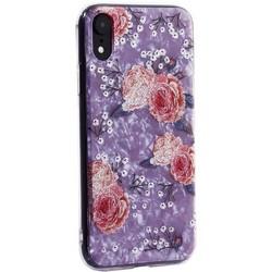 """Чехол-накладка пластиковый Fashion Case для iPhone XR (6.1"""") с силиконовыми бортами Розовый вид №3"""