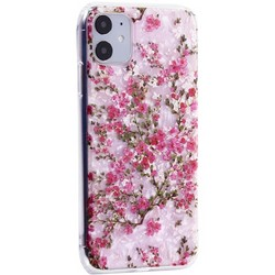"""Чехол-накладка пластиковый MItrifON для iPhone 11 (6.1"""") с силиконовыми бортами Розовый вид №2"""