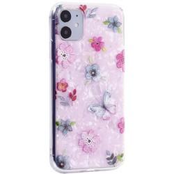 """Чехол-накладка пластиковый MItrifON для iPhone 11 (6.1"""") с силиконовыми бортами Розовый вид №5"""