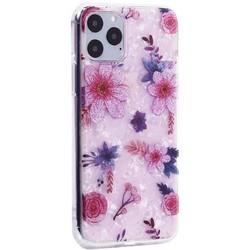 """Чехол-накладка пластиковый MItrifON для iPhone 11 Pro (5.8"""") с силиконовыми бортами Розовый вид №4"""