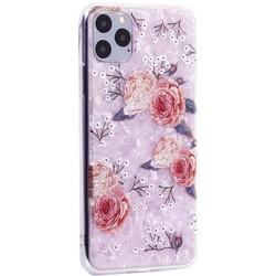 """Чехол-накладка пластиковый MItrifON для iPhone 11 Pro Max (6.5"""") с силиконовыми бортами Розовый вид №3"""