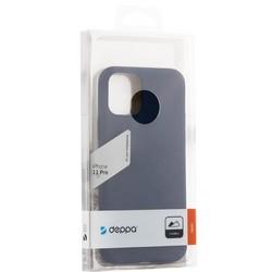 "Чехол-накладка силикон Deppa Gel Color Case Basic D-87226 для iPhone 11 Pro (5.8"") 0.8мм Синий"