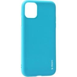 "Чехол-накладка силикон Deppa Gel Color Case D-87247 для iPhone 11 Pro Max (6.5"") 1.0мм Синий"