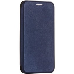 Чехол-книжка кожаный Fashion Case Slim-Fit для Samsung Galaxy A40 Синий