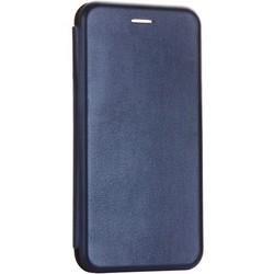 Чехол-книжка кожаный Fashion Case Slim-Fit для Samsung Galaxy A70 Dark Blue Темно-синий