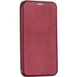 """Чехол-книжка кожаный Fashion Case Slim-Fit для iPhone 11 (6.1"""") Бордовый"""