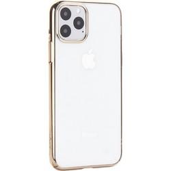 """Чехол-накладка пластиковый X-Level для iPhone 11 Pro (5.8"""") Золотой глянцевый борт"""