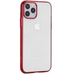 """Чехол-накладка пластиковый X-Level для iPhone 11 Pro (5.8"""") Красный глянцевый борт"""