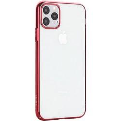 """Чехол-накладка пластиковый X-Level для iPhone 11 Pro Max (6.5"""") Красный глянцевый борт"""