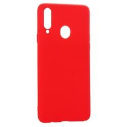 Чехол-накладка силикон Deppa Gel Color Case D-87386 для Samsung GALAXY A20S (2019) 0.8мм Красный