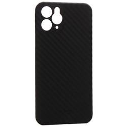 "Чехол-накладка карбоновая K-Doo Air Carbon 0.45мм для Iphone 11 (6.1"") Черная"