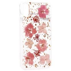 "Чехол-накладка силиконовая K-Doo Flowers TPU+Dried Flowers+Lucite для Iphone XR (6.1"") Розовая"