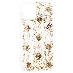 """Чехол-накладка пластиковая K-Doo Flash TPU+Lucite для Iphone 11 (6.1"""") силиконовый борт Золотая"""