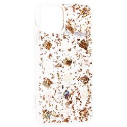 """Чехол-накладка пластиковая K-Doo Flash TPU+Lucite для Iphone 11 (6.1"""") силиконовый борт Розовое золото"""
