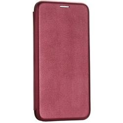 Чехол-книжка кожаный Fashion Case Slim-Fit для iPhone SE (2020г.)/ 8/ 7 (4.7) Бордовый